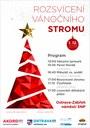 Rozsvícení vánočního stromu u Akordu