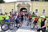 Akce Léto na kole se zúčastnilo několik stovek cyklistů