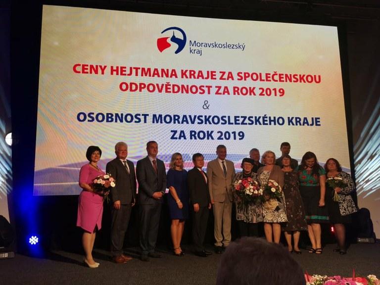 AKORD & POKLAD ocenil hejtman Moravskoslezského kraje