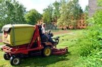 Aktuální sekání trávy
