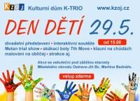 Den dětí na pěší zóně u K-TRIA