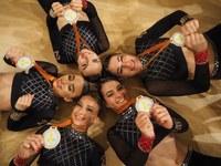 Dívky pojedou na mistrovství Evropy v aerobiku