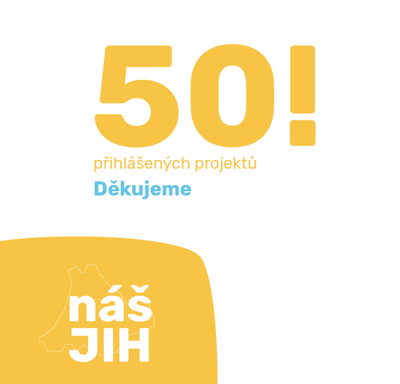 """Do pátého ročníku projektu """"Společně tvoříme Jih"""" je přihlášeno padesát návrhů"""
