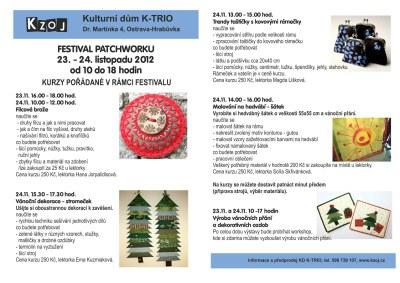 Festival patchworku v K-TRIU