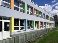 Mateřská škola v Hrabůvce září novou barevnou fasádou
