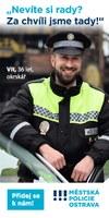 Městská policie Ostrava hledá kolegy