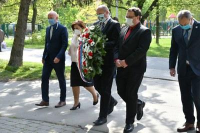 Ostrava-Jih si připomenula 75. výročí osvobození částí obvodu