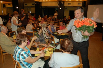 Mezi seniory zavítali vzácní hosté