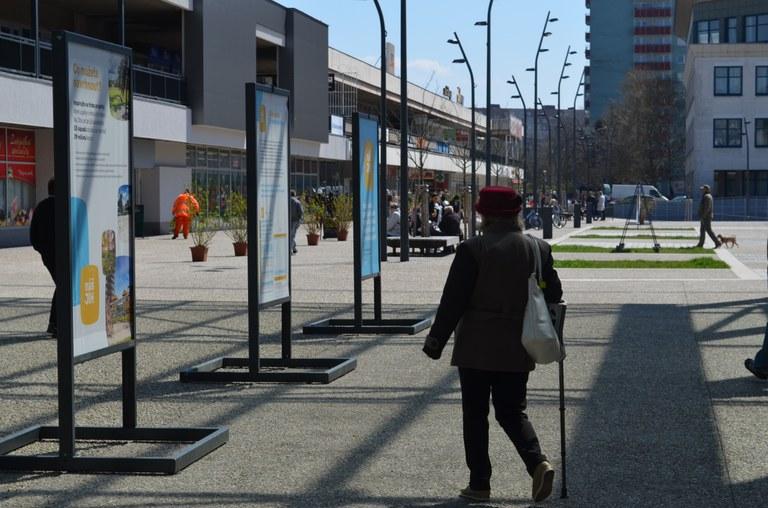 Nápadům obyvatel obvodu je věnována nová výstava na Náměstí Ostrava-Jih