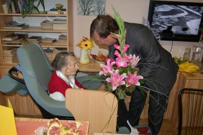 Nejstarší obyvatelka Jihu oslavila sto čtvrté narozeniny