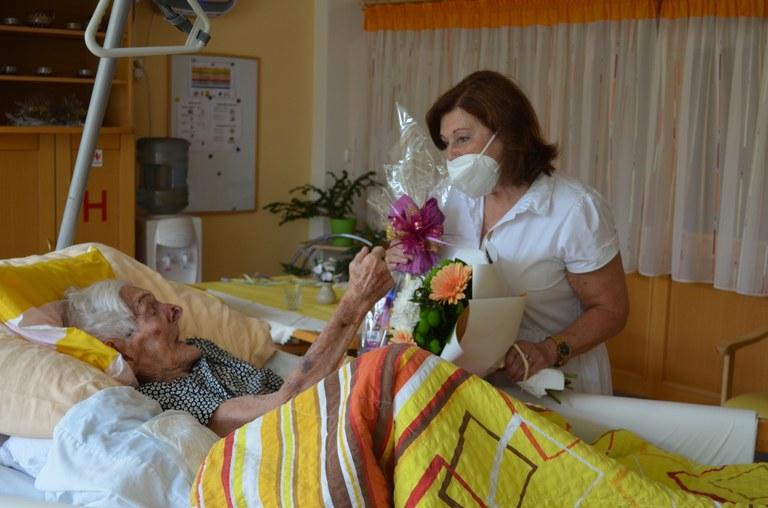 Nejstarší žena z Jihu oslavila 105 let