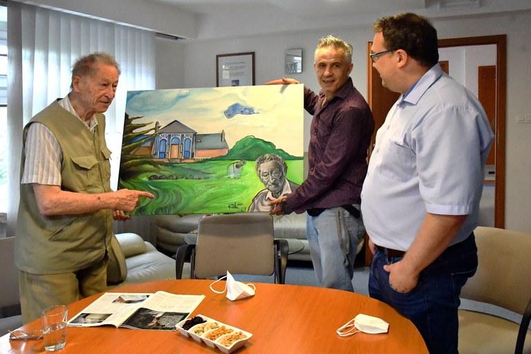 Neobyčejné setkání cestovatele s výtvarníkem na základě rozhovoru v Jižních listech