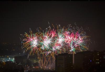 Nový rok přivítala Ostrava-Jih velkolepým ohňostrojem