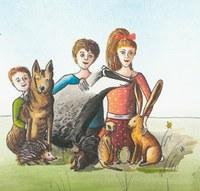 Obvod vydal knížku o malé surikatě a v pondělí ji pokřtí