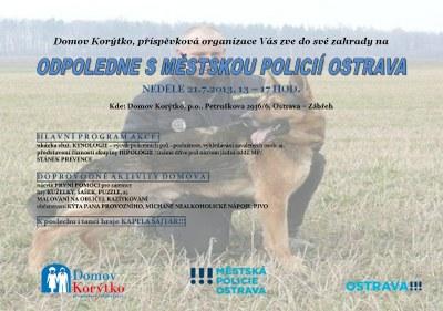 Odpoledne s Městskou policií Ostrava