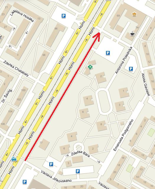 """Oprava """"vedlejší"""" ulice Horní si vyžádá měsíční uzavírku jednoho jízdního pruhu"""