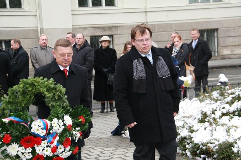 Ostrava si připomněla odkaz státního svátku 28. října