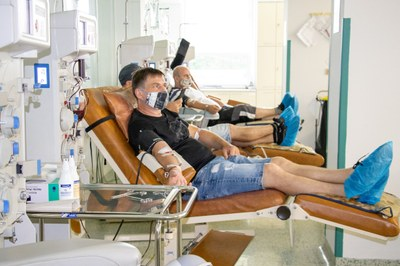 Ostravská fakultní nemocnice potřebuje mužské dárce, kteří prodělali koronavirus