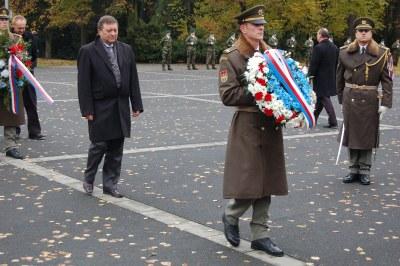 Pietní akt k uctění památky válečných veteránů