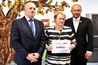 Ples městského obvodu přinesl Domovu Čujkovova 10 000 korun