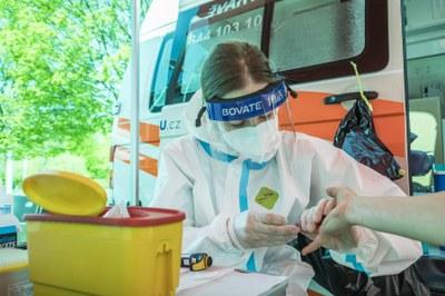 Plošné testování na koronavirus v moravskoslezském kraji