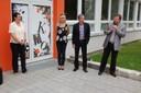 Pár slov k návštěvníkům pronesl i starosta obvodu Karel Sibinský