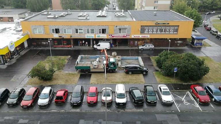 Předprostor Uralu v Zábřehu získá nový šmrnc a parkovací místa