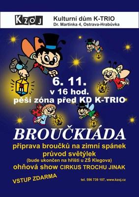 Pro děti je na zítřek připravena Broučkiáda
