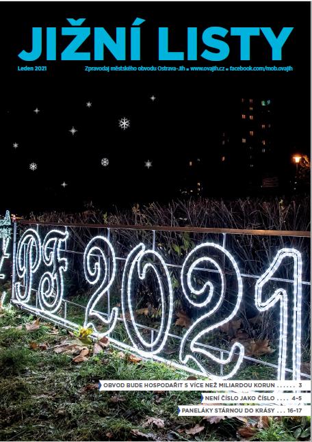 První číslo Jižních listů v roce 2021 míří do vašich schránek