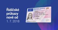 Řidičský průkaz vám od 1. července vystaví i v jiném městě a bez fotky