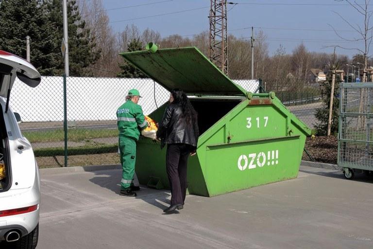 Rozmístění velkoobjemových kontejnerů