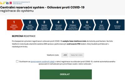 S registrací do celostátního systému očkování proti covidu-19 pomohou také zaměstnanci zdravotní pojišťovny RBP