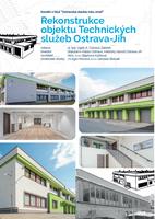 Sídlo společnosti Technické služby Ostrava-Jih se uchází o titul Stavba roku