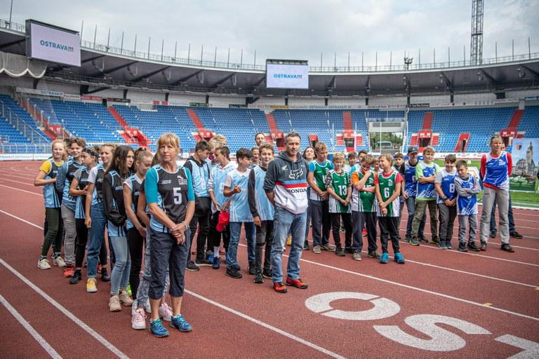 Školy z Jihu uspěly v Ostravských sportovních hrách
