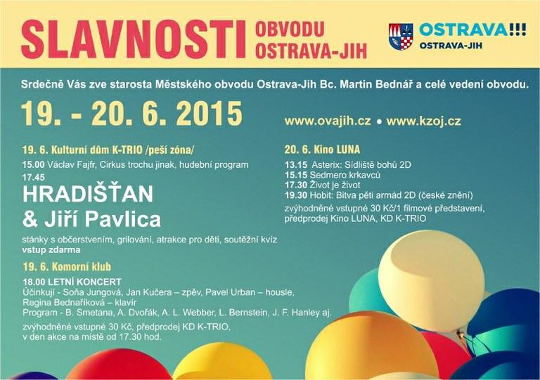 Slavnosti obvodu nabídnou pestrý program — Čeština