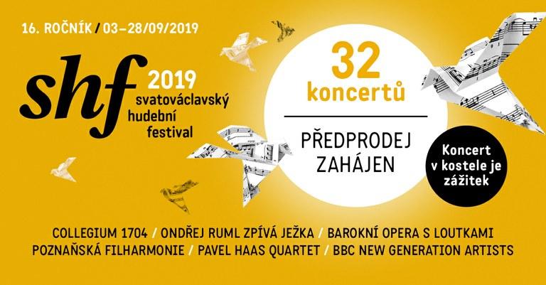 Svatováclavský hudební festival představuje svůj 16. ročník