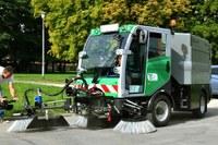 Technické služby dostaly k 4. výročí nové vybavení