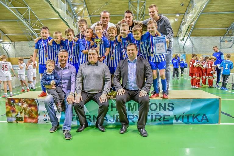 Turnaj O pohár rytíře Vítka nabídl skvělé zápasy