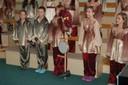 Vystoupení dětského pěveckého sboru Mendíci
