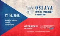 V sobotu 27. října společně oslavíme 100 let naší země