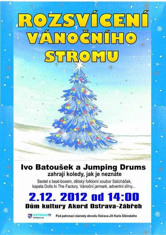 Už tuto neděli se rozsvítí první vánoční strom v obvodu