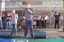 Návštěvníky pozdravil i starosta Karel Sibinský