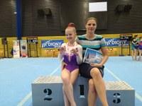 Vítkovická gymnastka se stala mistryní republiky kadetek