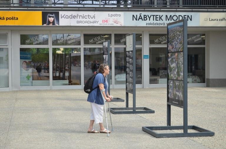 Výstava 100 na 100 připomíná minulost Zábřehu-Družstva a Jubilejní kolonie