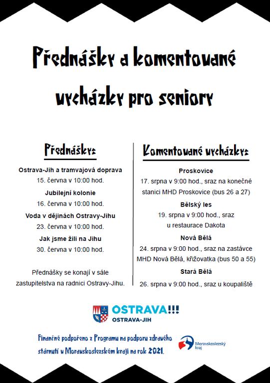 Začínají tematické programy pro seniory z Jihu 60 a více let — Čeština