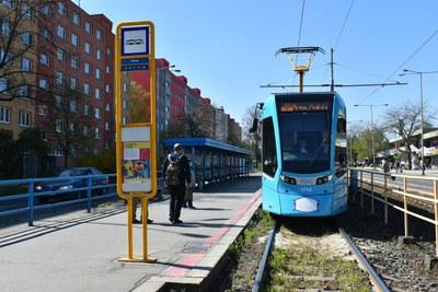 Začne modernizace frekventované zastávky Kotva a tramvajové trati