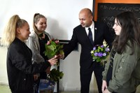 Žákyně základní školy z Ostravy-Zábřehu zachraňovaly lidský život