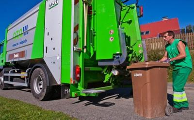 Zimní svoz bioodpadu jednou měsíčně