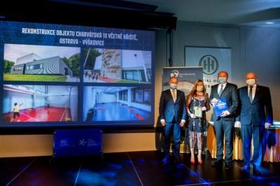 Získali jsme Cenu veřejnosti za rekonstrukci sportovního areálu ve Výškovicích