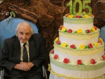 Muž z roku 1916 - nejstarší občan Ostravy-Jihu slaví 105 let
